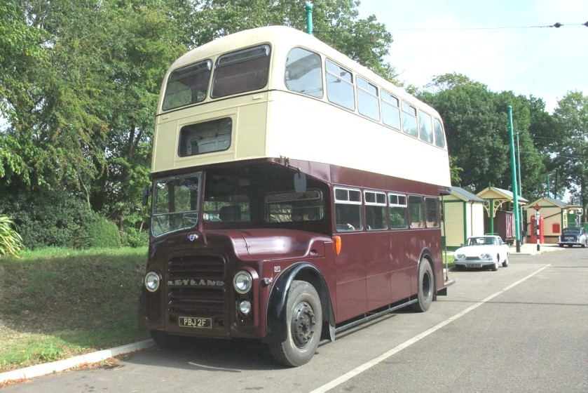 1967 Leyland with Massey body
