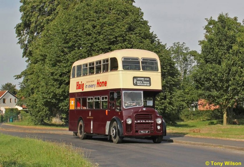 1967 Lowestoft Corporation number 12 was one of two Leyland PD2s with handsome Massey bodywork supplied in 1967