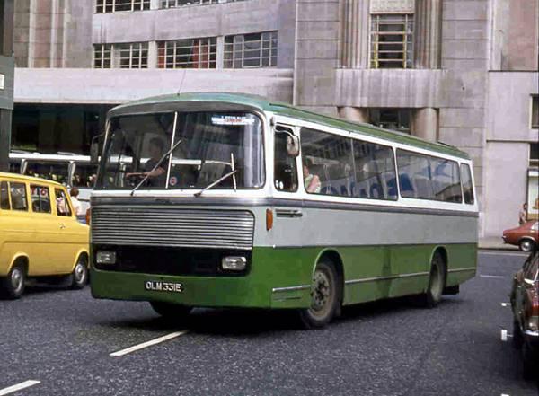 1967 MCW Metropolitan C45F bodied Bedford VAM5