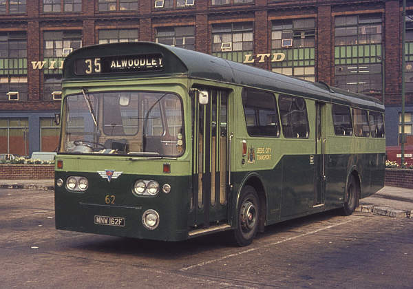 1968 AEC Swift MP2R with MCW B48D body