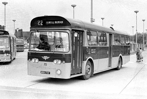 1968 AEC Swift with MCW 48 seat bodywork a