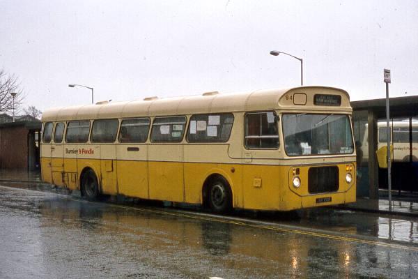 1968 Bristol RELL6G with Metro-Cammell B47D bodywork