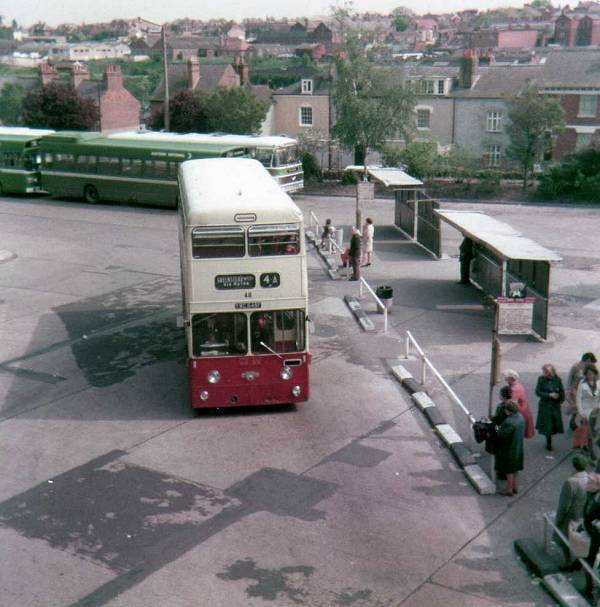 1968 Leyland Atlantean PDR1-1 with Massey H43-31F body
