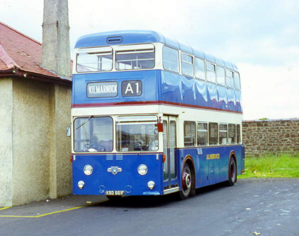 1968 Leyland Atlantean PDR1A-1 built in 1968 with Massey H43-31F bodywork