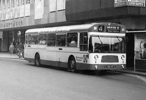 1968, Leyland Panther PSUR1A-1s with MCW bodywork