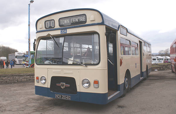 1968 Leyland Panther PSUR1A-1with MCW bodywork.