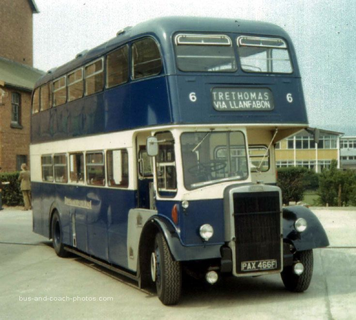 1968 Leyland Titan PD3 with Massey body
