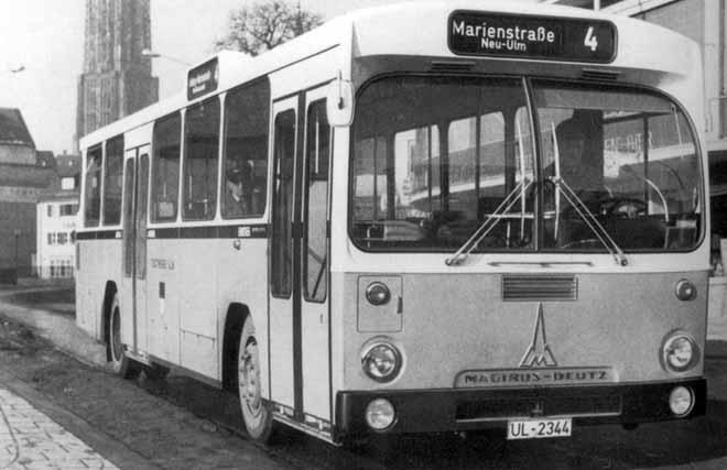 1968 Magirus-Deutz