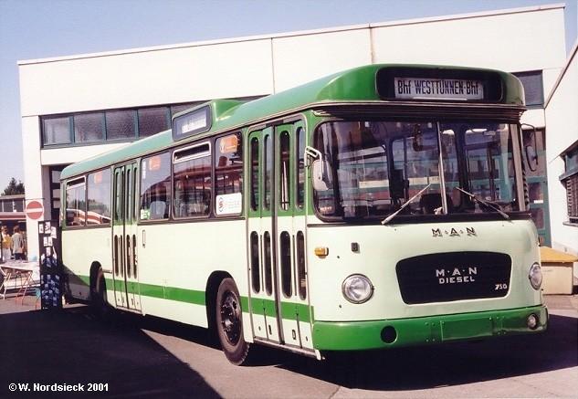 1968 MAN 750 HO Metrobus BHf