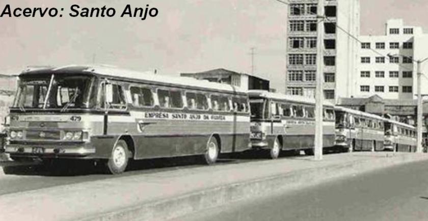 1968 Marcopolo I, lançado no VI Salão do Automóvel em 1968