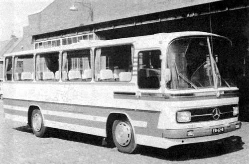 1968 Mercedes Benz OF 1113-Domburg nr.15 met 38 zitplaatsen