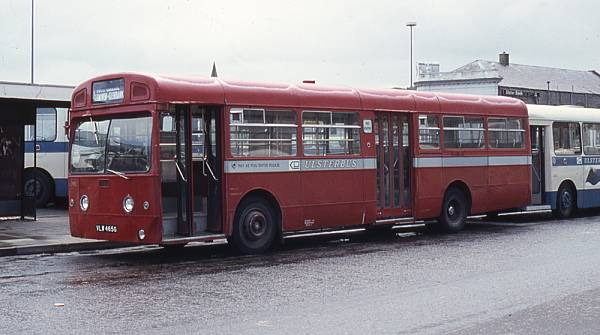 1969 AEC Merlin 4P2R with Metro-Cammell B25D bodywork