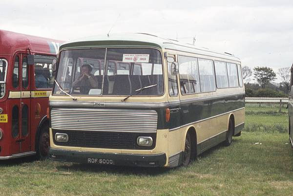1969 Bedford VAM70 with MCW Metropolitan C45F body
