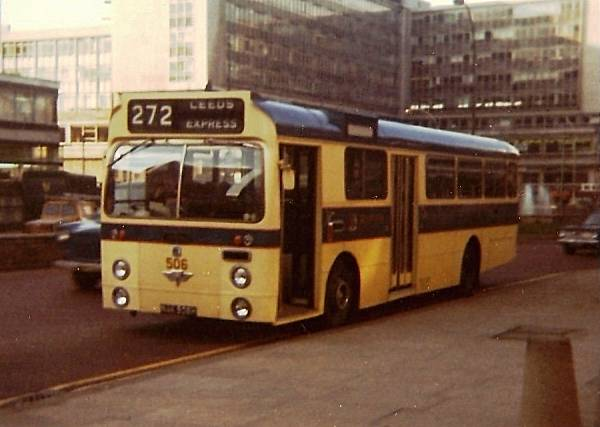 1969 Bradford City Transport bought 5 AEC Swifts with Marshall dual door