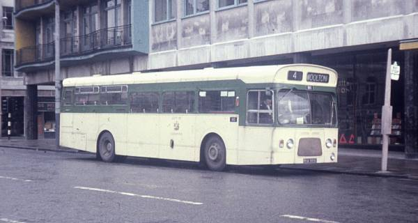 1969 Leyland Panther PSUR1A-1 with Metro-Cammell B47D+24 body