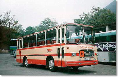 1969 MAN 535 Alpenkönig