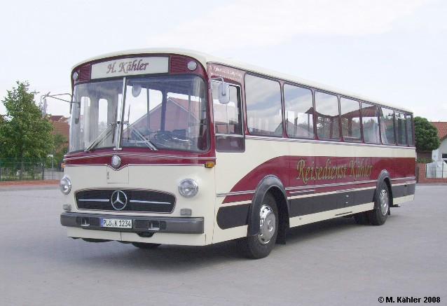 1969 Mercedes benz O 317 K Linienbus