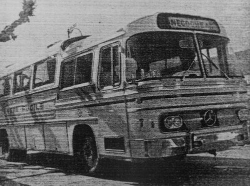 1969 Mercedes Benz O140 DIC