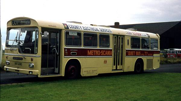 1969 Scania BR111MH with Metro Cammell Weymann B42D body
