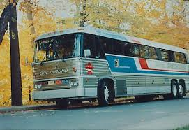 1970 MCI MC-8 Greyhound Lines of Canada