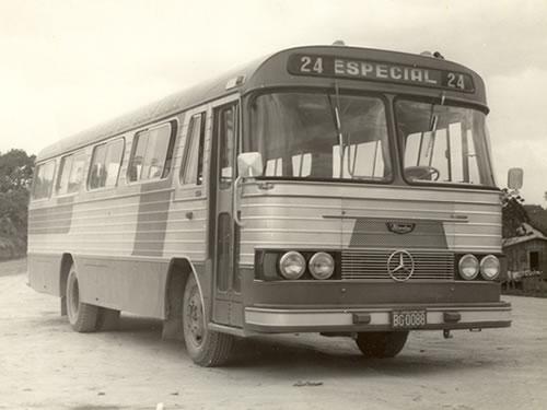 1970 Mercedes bens - Comprado de Silvana em Taquara-RS em 1970 - Carroceria Nicola