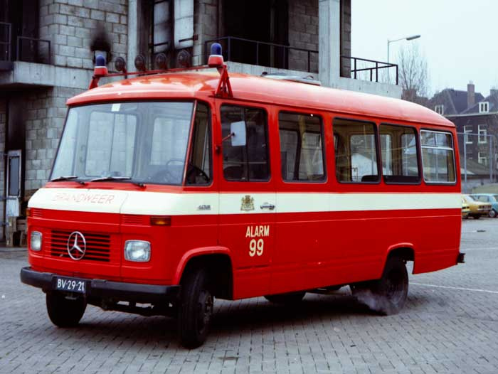 1970 Mercedes-Benz L408 autobus BV-29-21