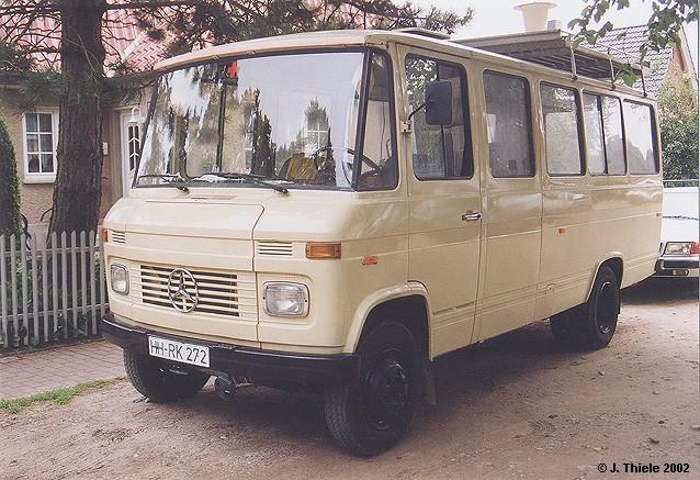 1970 Mercedes Benz O 3O9 Kleinbus