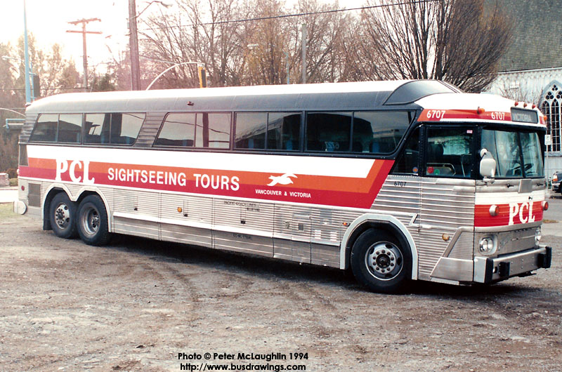 1970 Motor Coach Industries model MC-7