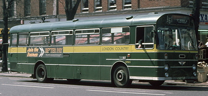 1971 AEC Swift Marshall, St Albans, May 1976