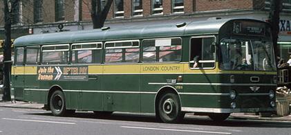 1971 AEC Swift Marshall, St Albans, May 1976