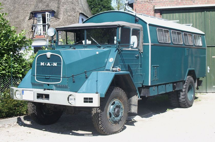 1971 MAN 630 L2A Kommandowagen