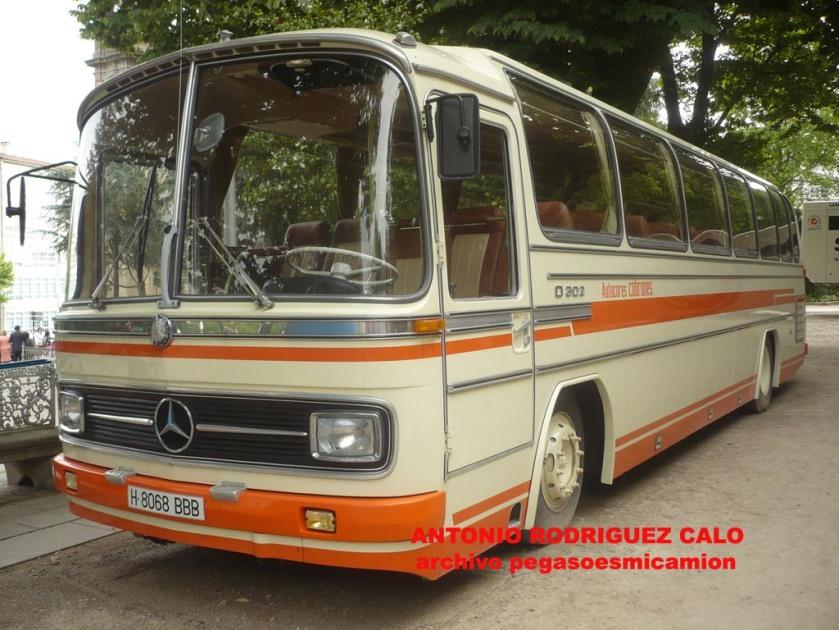 1971 Mercedes Benz O 302 360 10R
