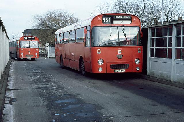 1971 Midland Red NBC bus 6444 Leyland Leopard Marshall CHA 444K