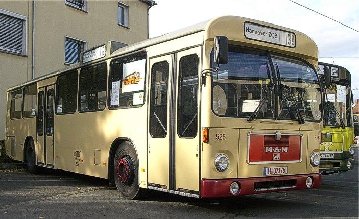 1973-86 MAN SL 200 mit VÖV-Front