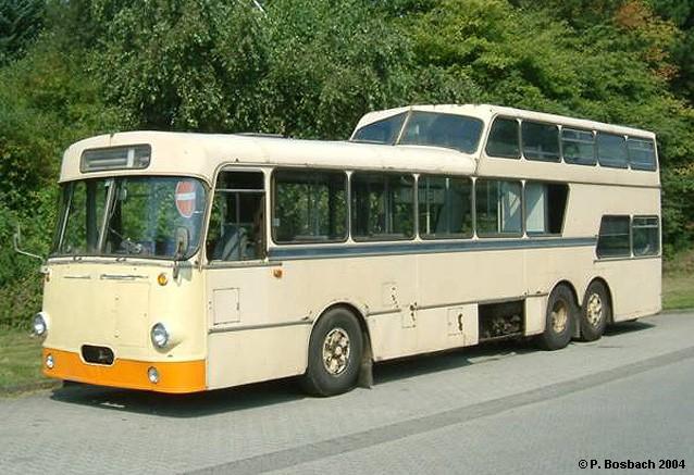 1973 MAN Büssing-Ludewig VG 16 Eineinhalbdecker ex Verkehrsbetriebe Minden-Ravensberg VMR