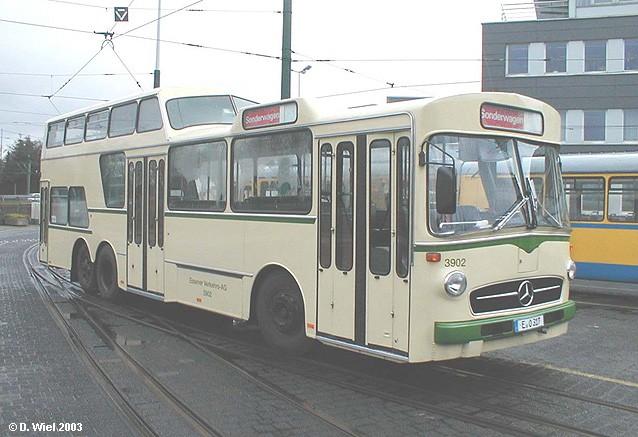 1974 Mercedes Benz Ludewig O 317 Eineinhalbdecker Essener Verkehrs-AG EVAG