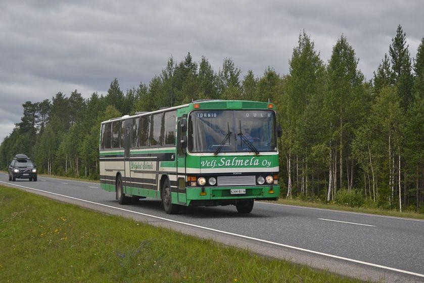 1974 Veljekset Salmela Scania F112 CLS Delta 200