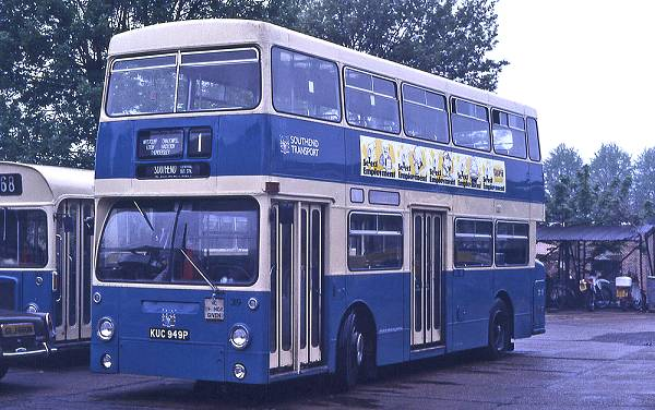 1975 Daimler Fleetline MCCW, ex-London Transport DMS194