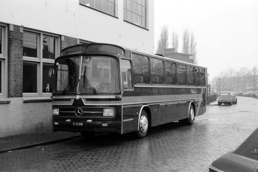 1975 Mercedes-Berkhof Wim Vink