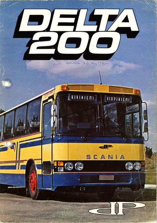 1976 DeltaPlan 200 Scania boekje