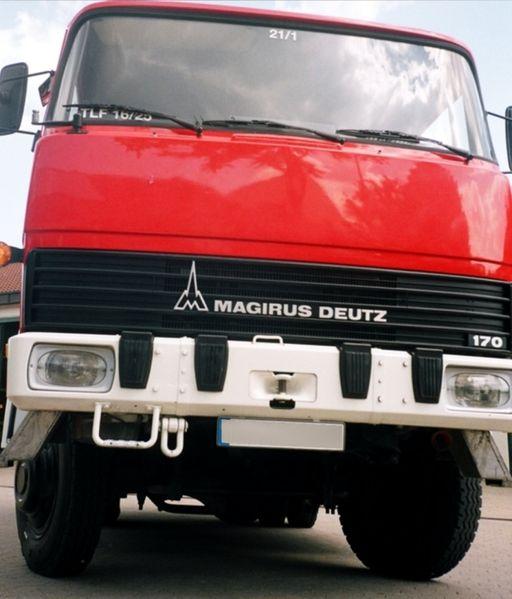 1976 Magirus-Deutz-Fahrzeug