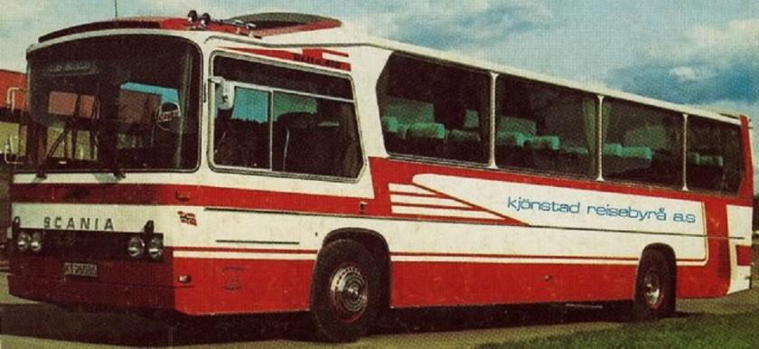 1976 Scania BR145A med Delta Plan dp400 påbygg