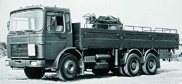 1977 MAN 22.240DF, 6x6