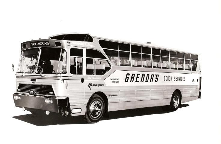 1977 Mercedes Benz Australië Grenda