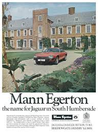 1978 MANN EGERTON ADVERT - JAGUAR XJS