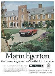 1978 MANN EGERTON ADVERT - JAGUAR XJS