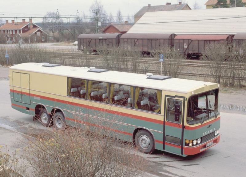 1978 Scania BF111S-59 kombinertbuss 1978
