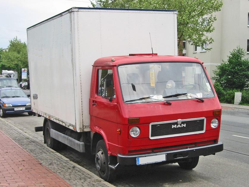 1979-87 MAN G 90 (ursprüngliche Fassung)