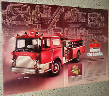 1979 Mack CF Fire Pumper Truck