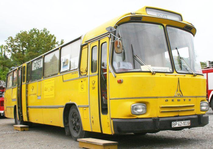 1979 Magirus-Deutz 150LS12 mobiles Postamt